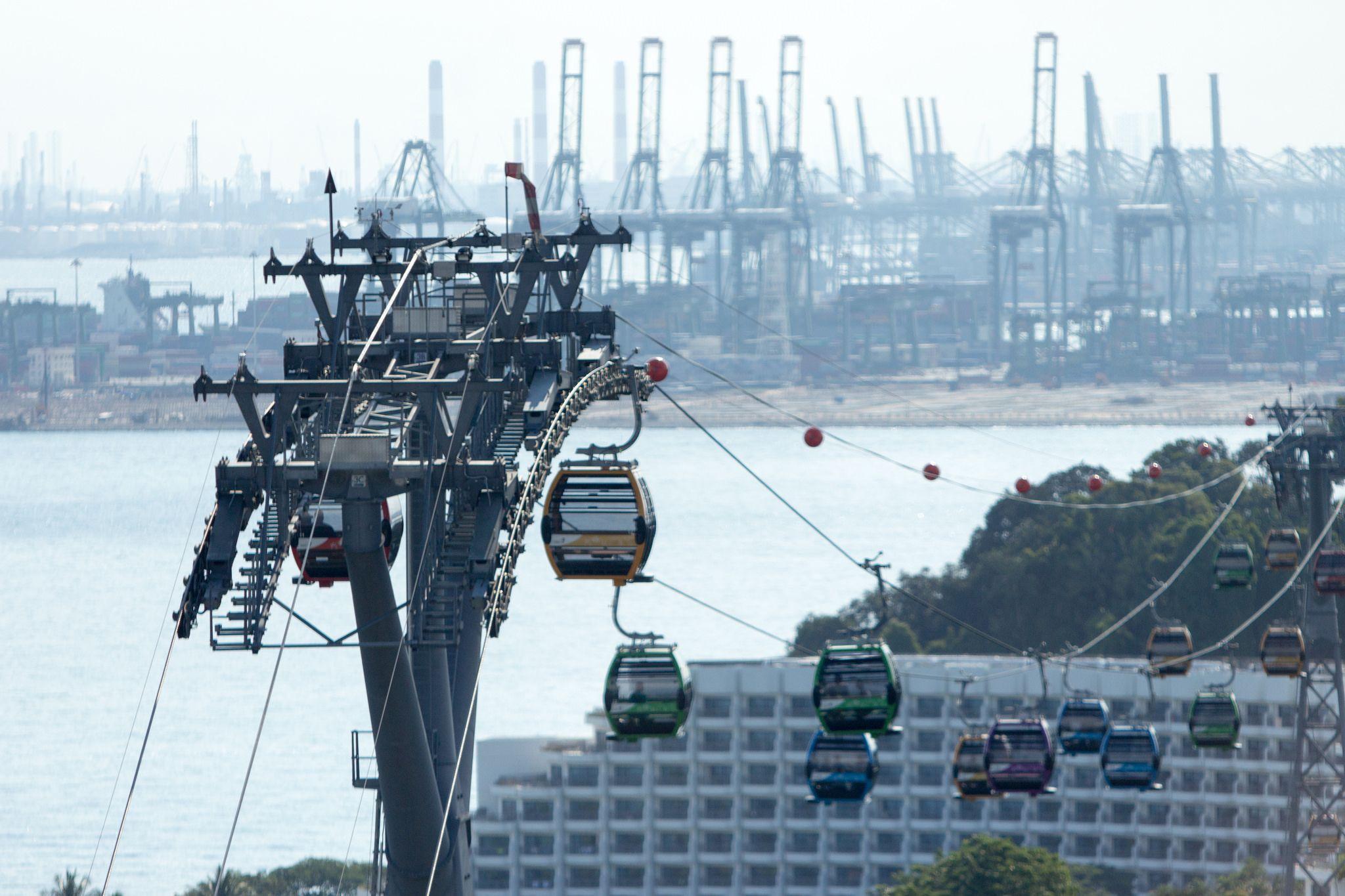 Cable Car Sky Ride Ski Lift Singapore