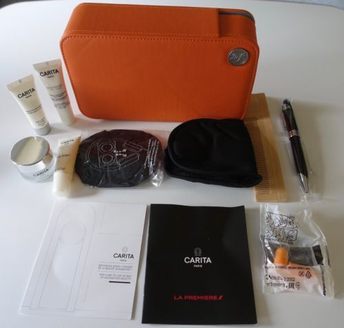 New Sealed Air France First Class Carita Paris Airline