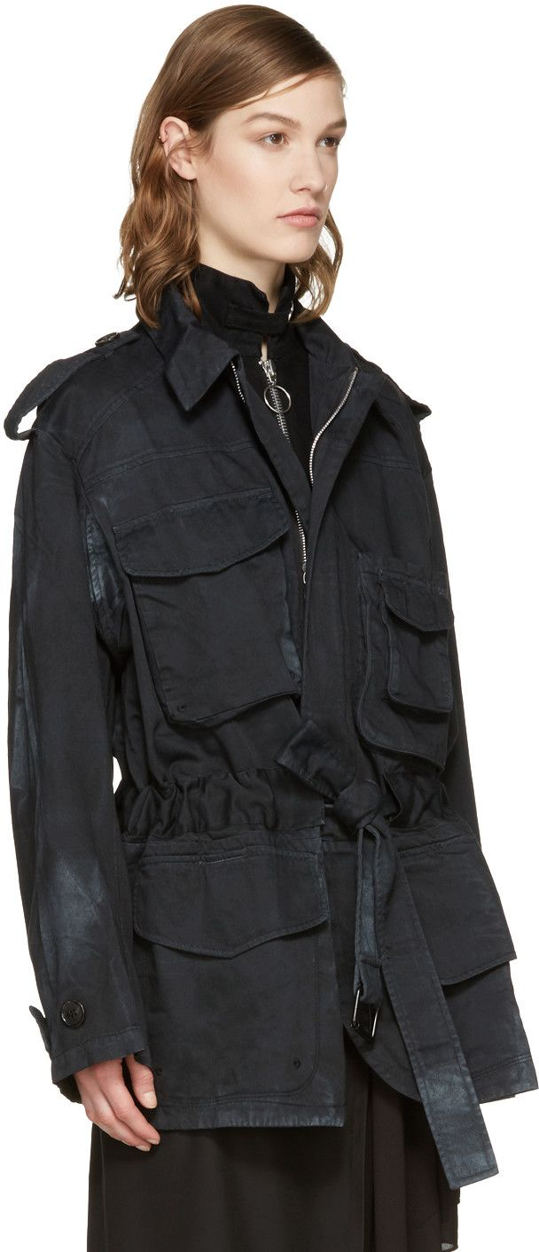 Acne Studios - Black Liv Co S Stone Jacket