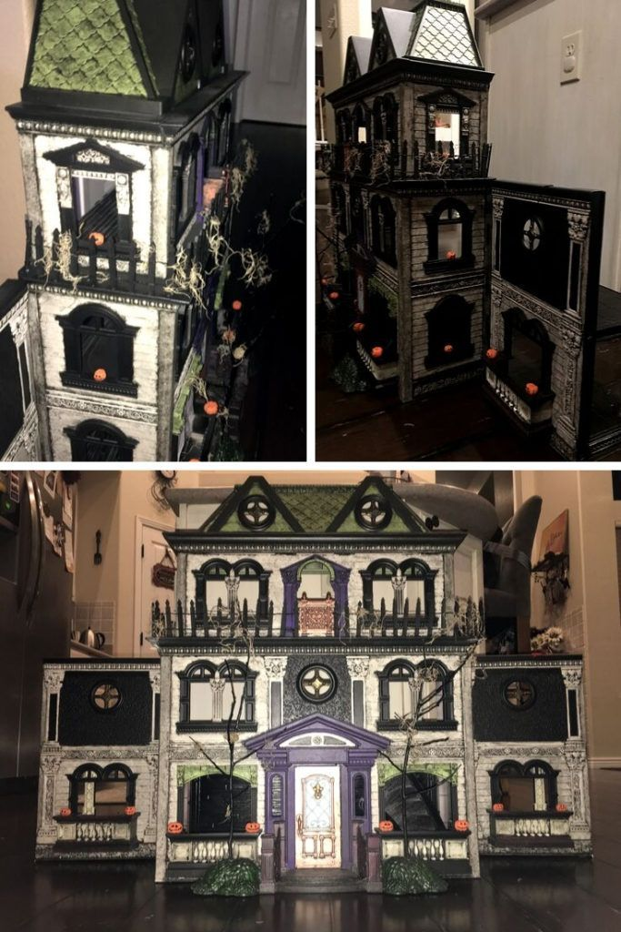 Haunted Dolls House Transformation - diy Thought