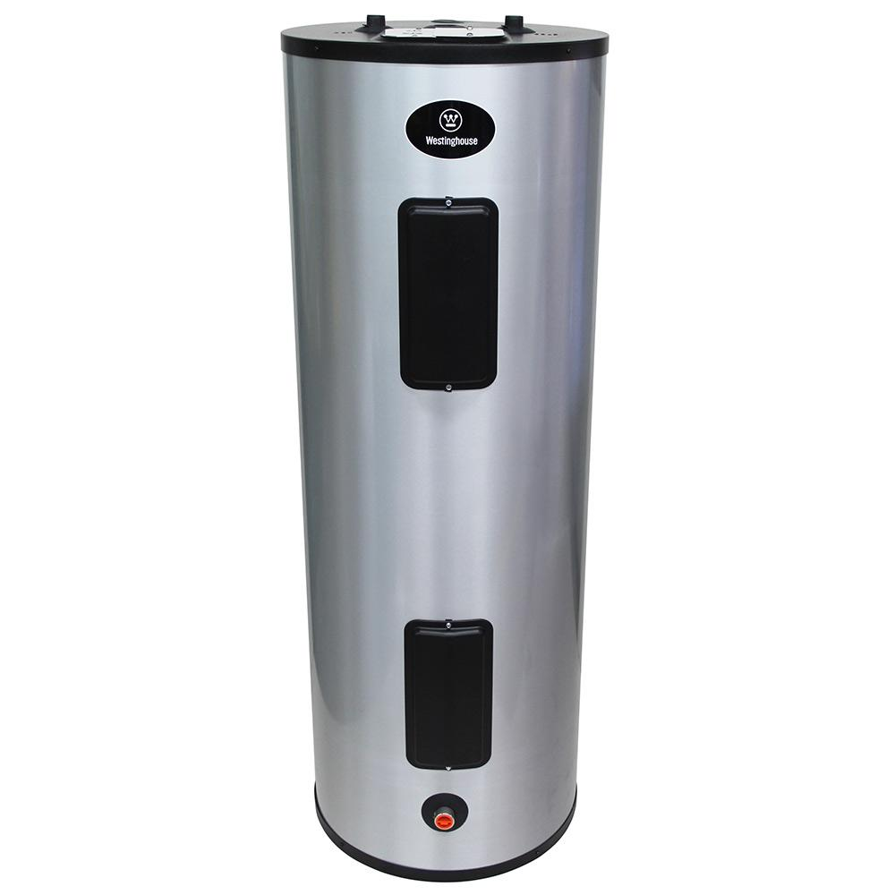 Westinghouse 52 Gal 4500 Watt Lifetime Residential Electric Water Heater With Durable 316 L Stainless Steel Tank