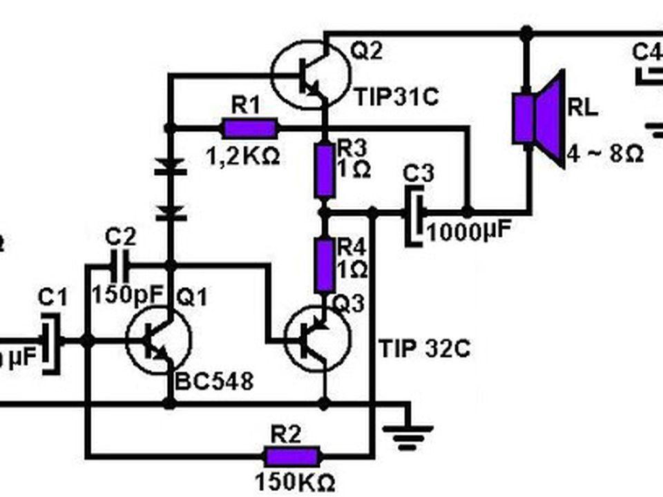 circuitos de amplificadores  aqu u00ed hay variedad de potencias