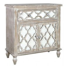 Hampton Beach 1 Drawer 2 Door Cabinet