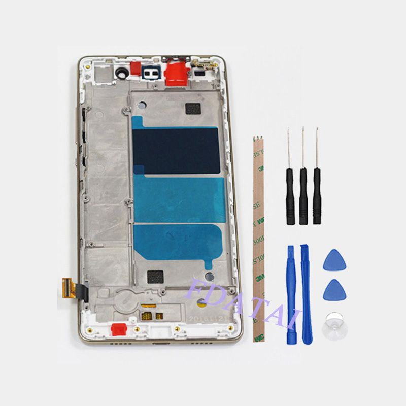 Aaa Quality Lcd Frame For Huawei P8 Lite Lcd Display Screen Replacement For Ale L04 Tl00 Cl00 Digiziter Assembly Screen Replacement Display Screen Huawei