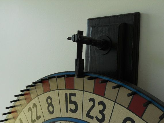 Large 42 Carnival Wheel W Wall Mount 42 Gaming By