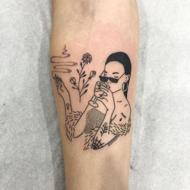 Pin By Mirza Ribic On Tattoo Ideas: Tattoos, Line Tattoos и Tattoo Designs