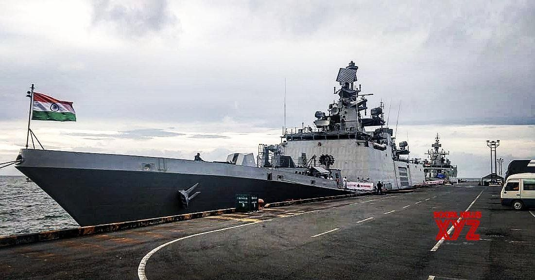 Sihanoukville Visit Of Indian Naval Ships To Cambodia Gallery Social News Xyz Indian Navy Ships Indian Navy Navy Ships