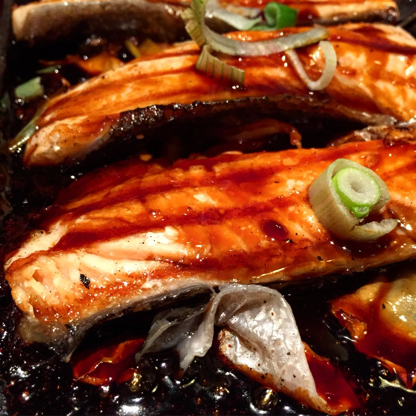 Salmon Teriaky @Bento Ramen (Japanese food)