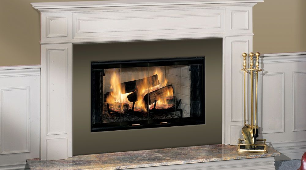 Royalton Wood Burning Fireplaces By Prefab Fireplace Zero
