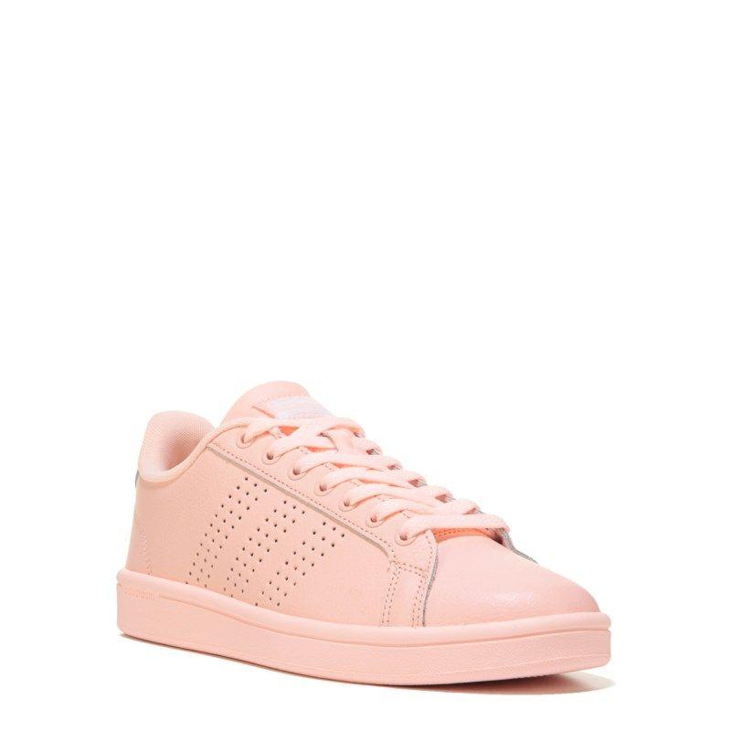 Adidas  mujer 's neo cloudfoam ventaja limpiar zapatillas (Coral) productos productos (Coral) e5d290