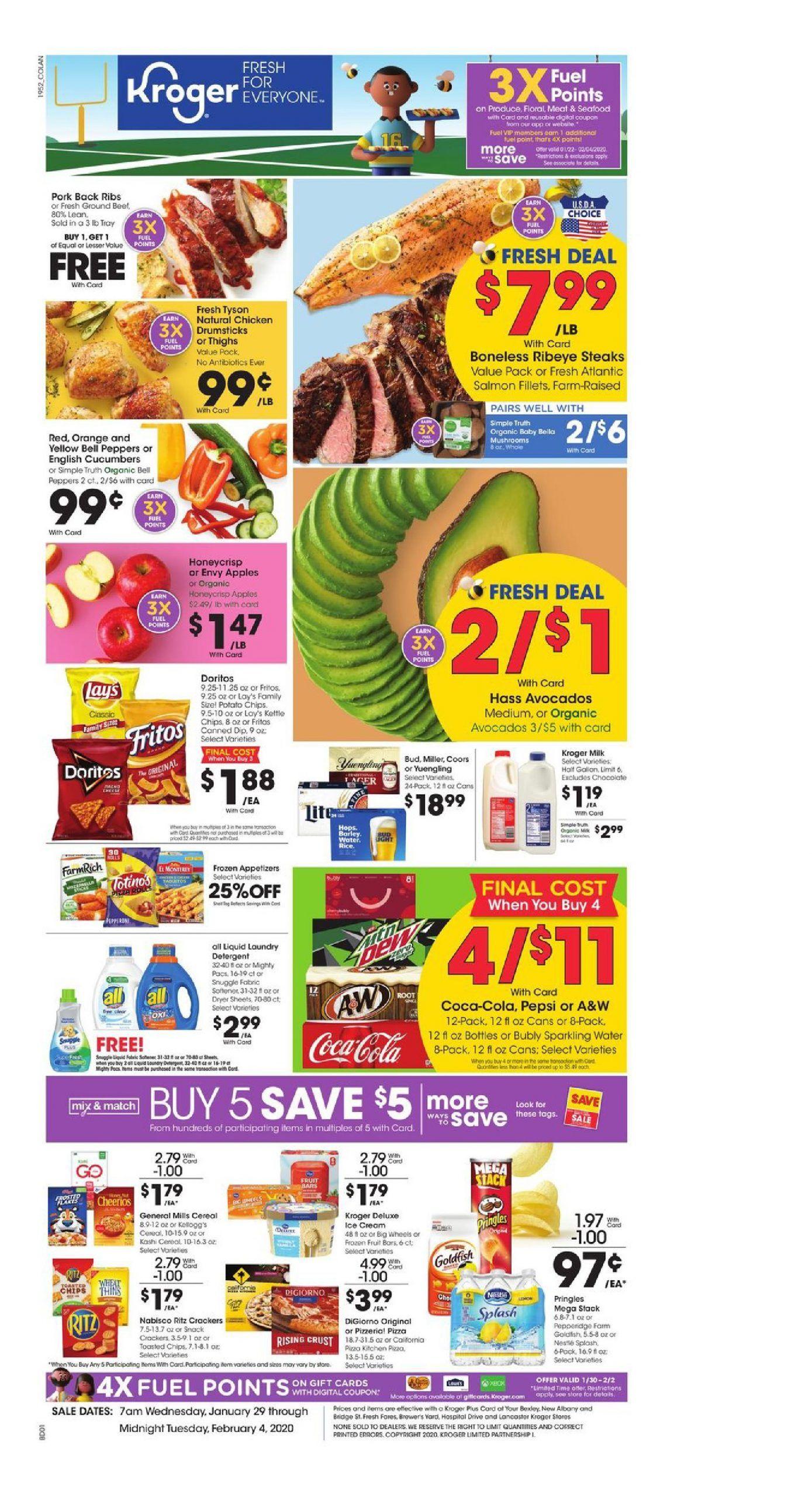 Kroger Weekly Ad Flyer March 11 17 2020 Weeklyad123 Com Kroger Grocery Savings Weekly Ads