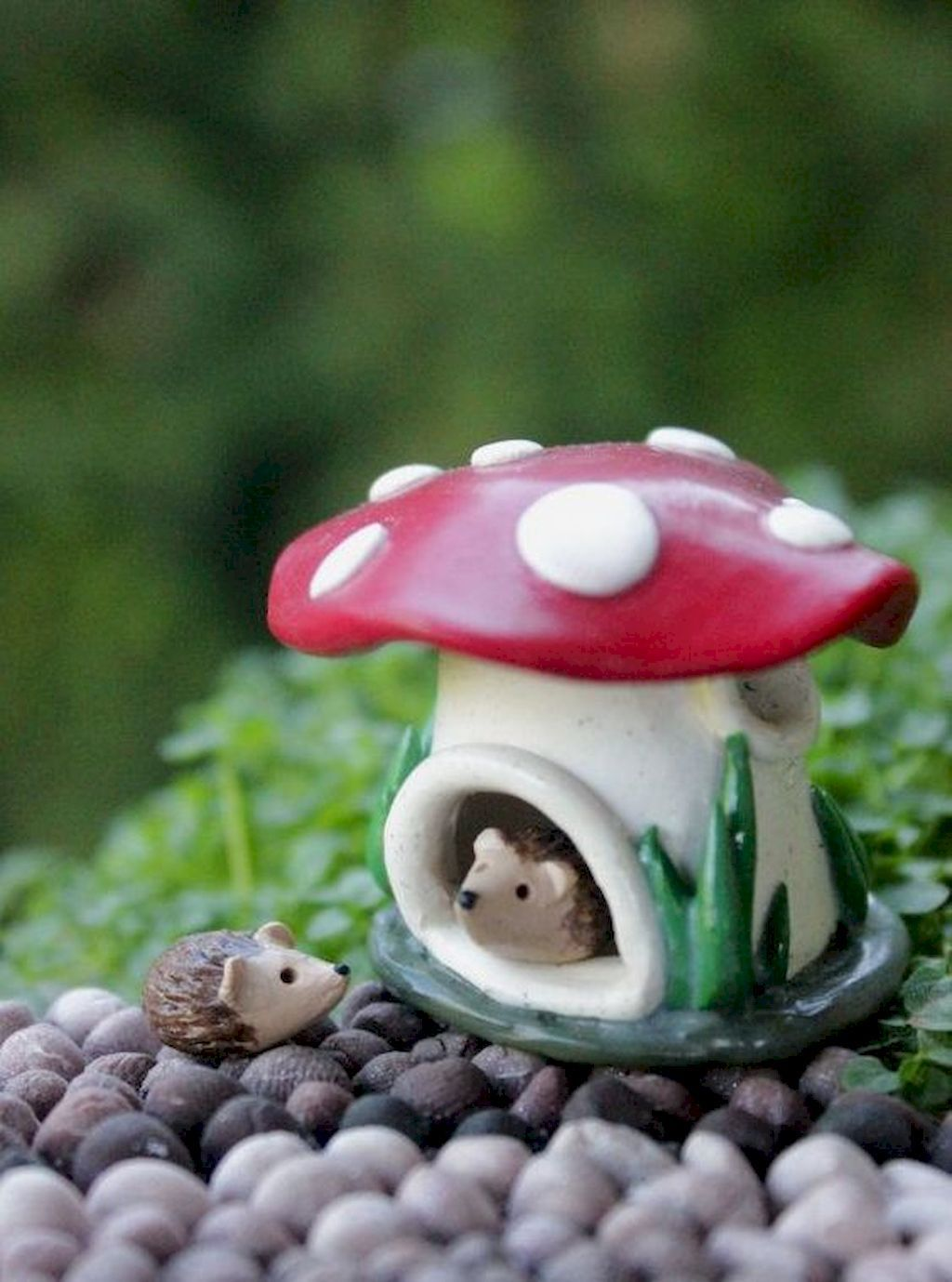 120 easy to try diy polymer clay fairy garden ideas (92 | modeling