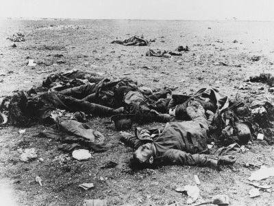 Dead German Soldiers WWI