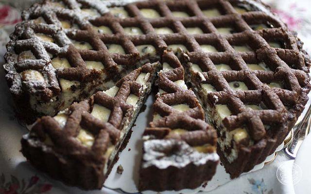 Naked Cake al grano saraceno con crema vegetale