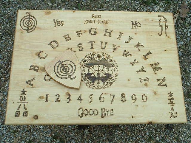 How to Make a Ouija Board | fantasy | Ouija, Reiki