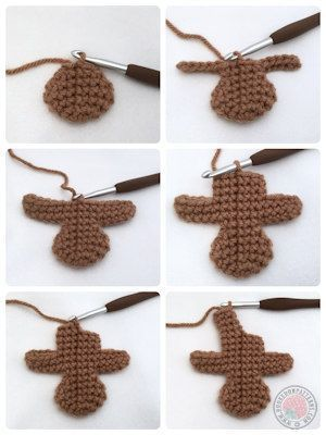 Gingerbread Man Free Crochet Pattern - Hooked On Patterns