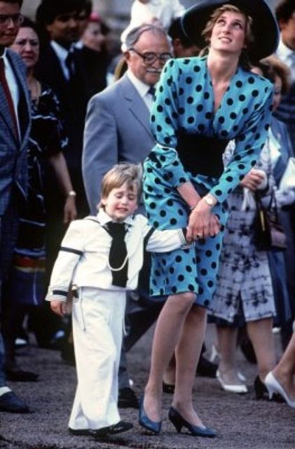 Diana with little William