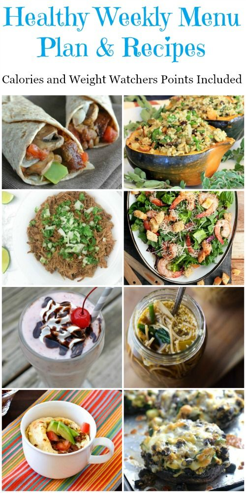 Healthy recipes to make a menu plan for breakfast lunch and food healthy recipes forumfinder Images