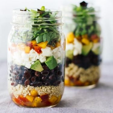 Central American Salad In A Jar