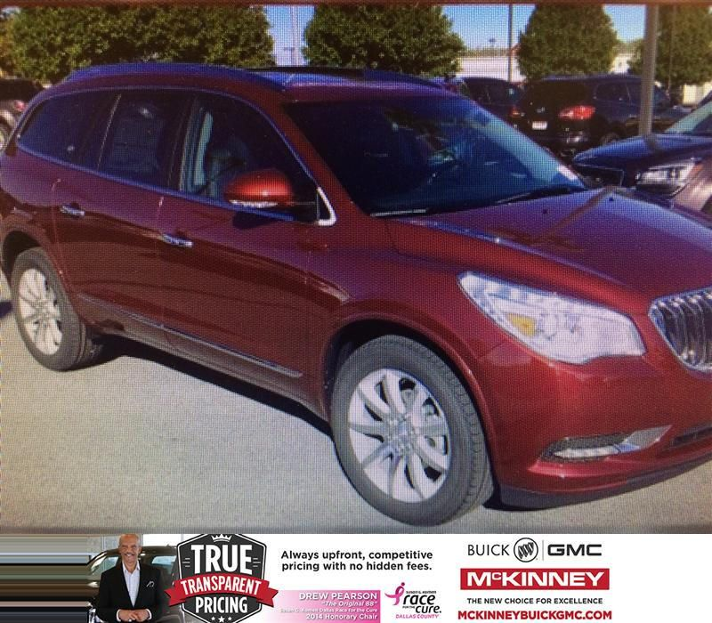 Congratulations To Dave May On Your Buick Enclave Purchase From