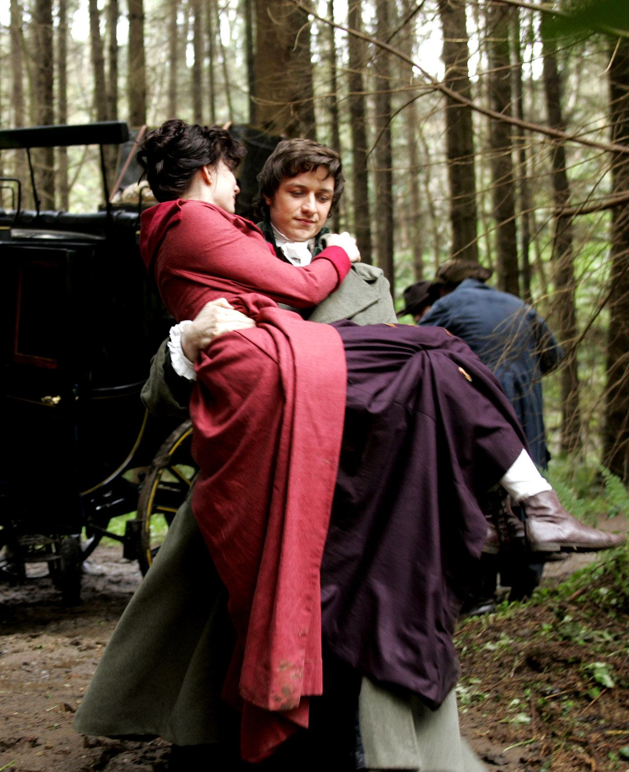 Becoming Jane 2007 Anne Hathaway Gets Carried Away By James Mcavoy