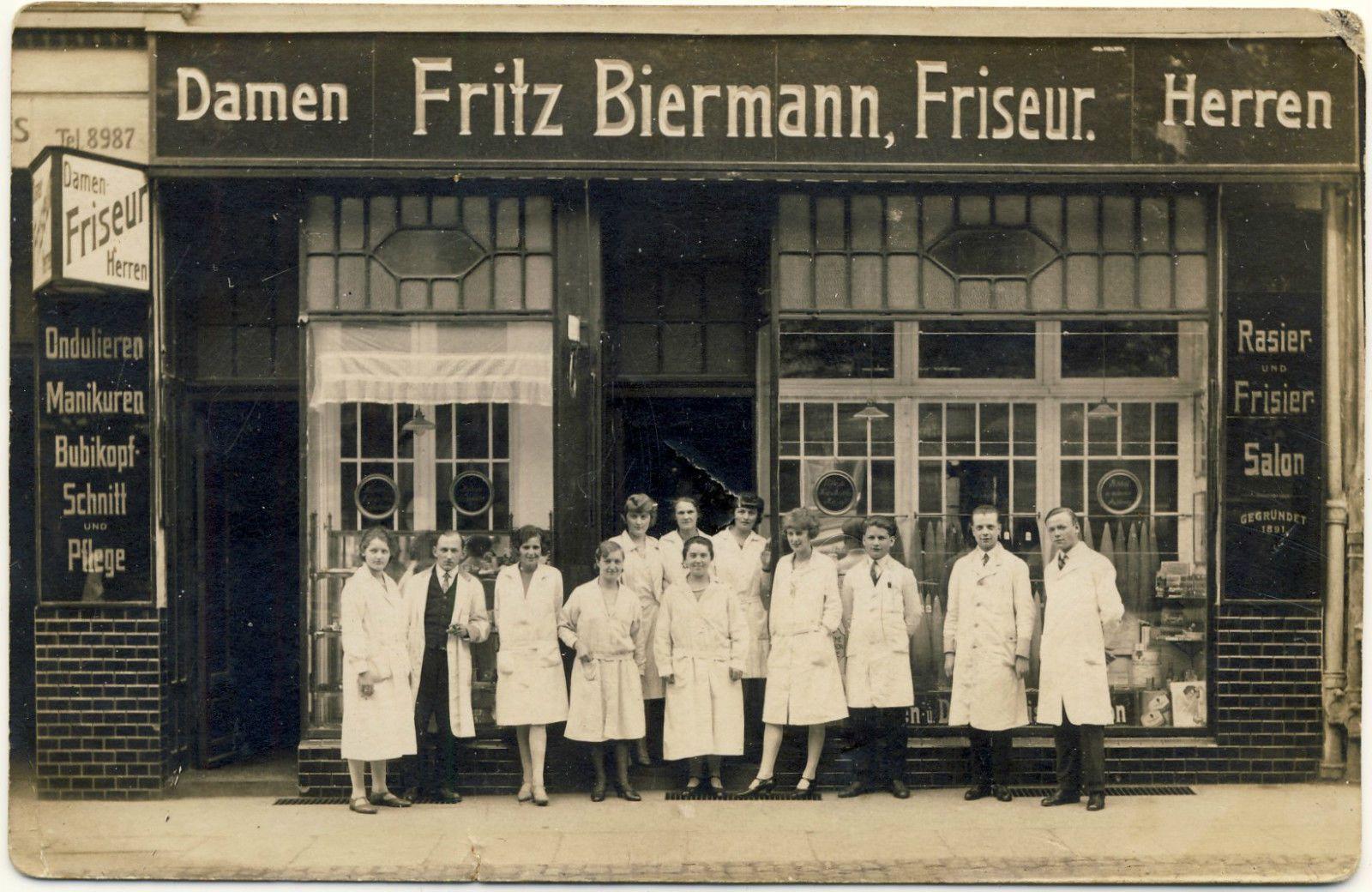 foto ak stettin friseur gesch ft um 1935 lindenstra e history of szczecin in 2019 history