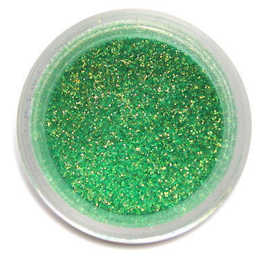 Beautiful Sea Green Decorating Disco Dust from Bakell (5 Grams)