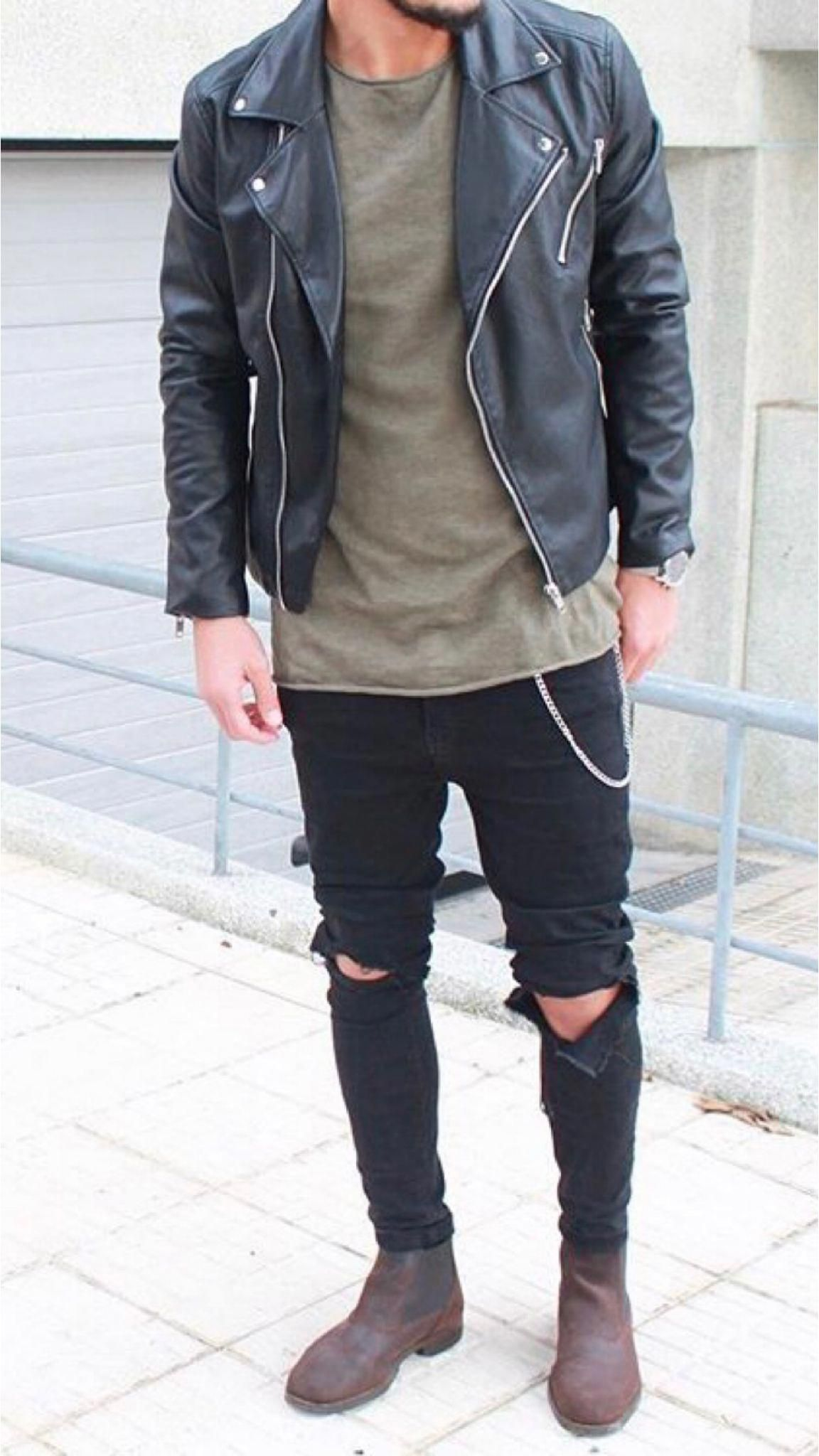 Cheap Mens Fashion Boots   Rocker style