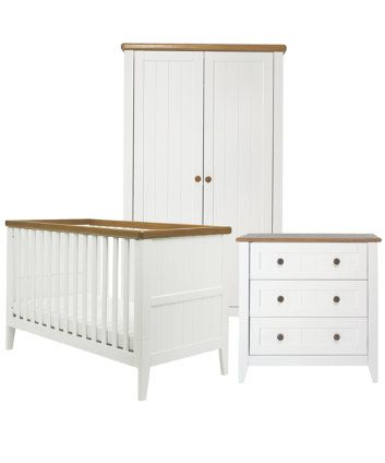 Mothercare Lulworth 3 Piece Nursery Furniture Set Clic
