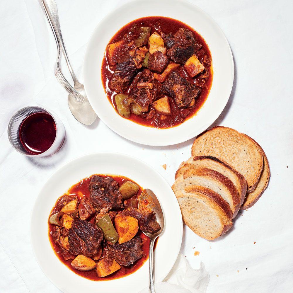 Hungarian Goulash Recipe Food Wine Recipes Recipe For Hungarian Goulash