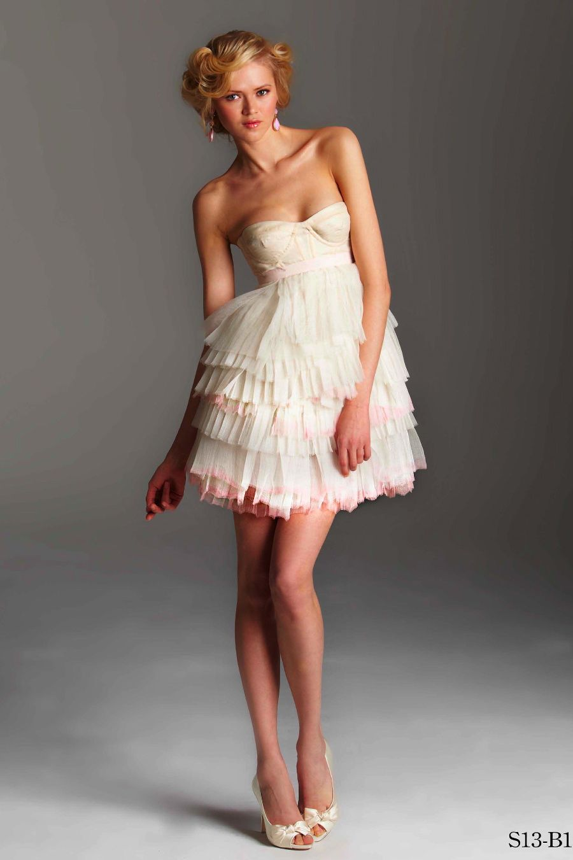 Wedding reception dresses for bride  Reception shower or rehearsal dress Rafael Cennamo
