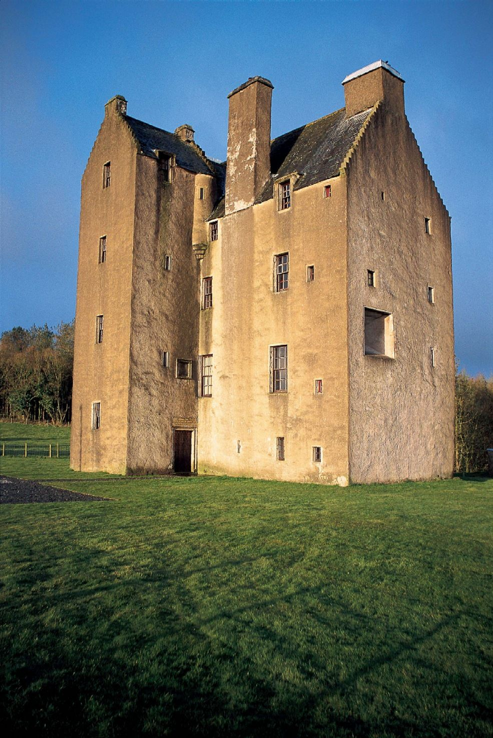 The Castle Of Park Is A 16th Century L Plan Tower House Near Glenluce,