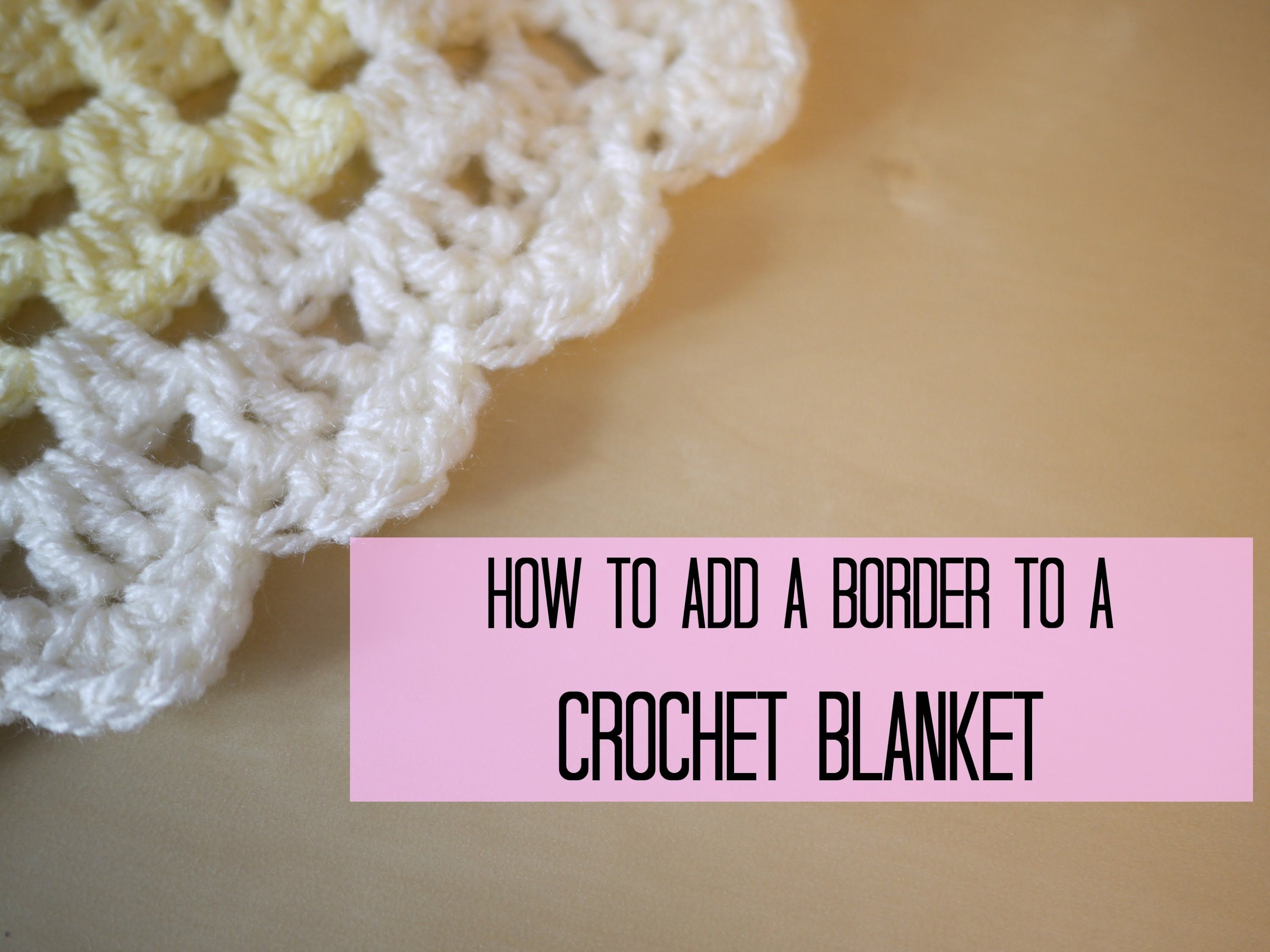Hi everyone many of you asked for a tutorial on how to add a hi everyone many of you asked for a tutorial on how to add a border to your blankets this is a tutorial on the shell or scalloped edge bankloansurffo Images