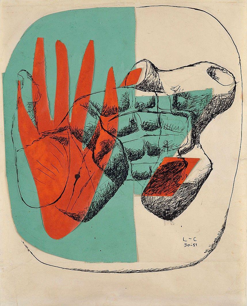 Le Corbusier Exhibits Paintings at Galerie Zlotowski   Companies   Interior Design