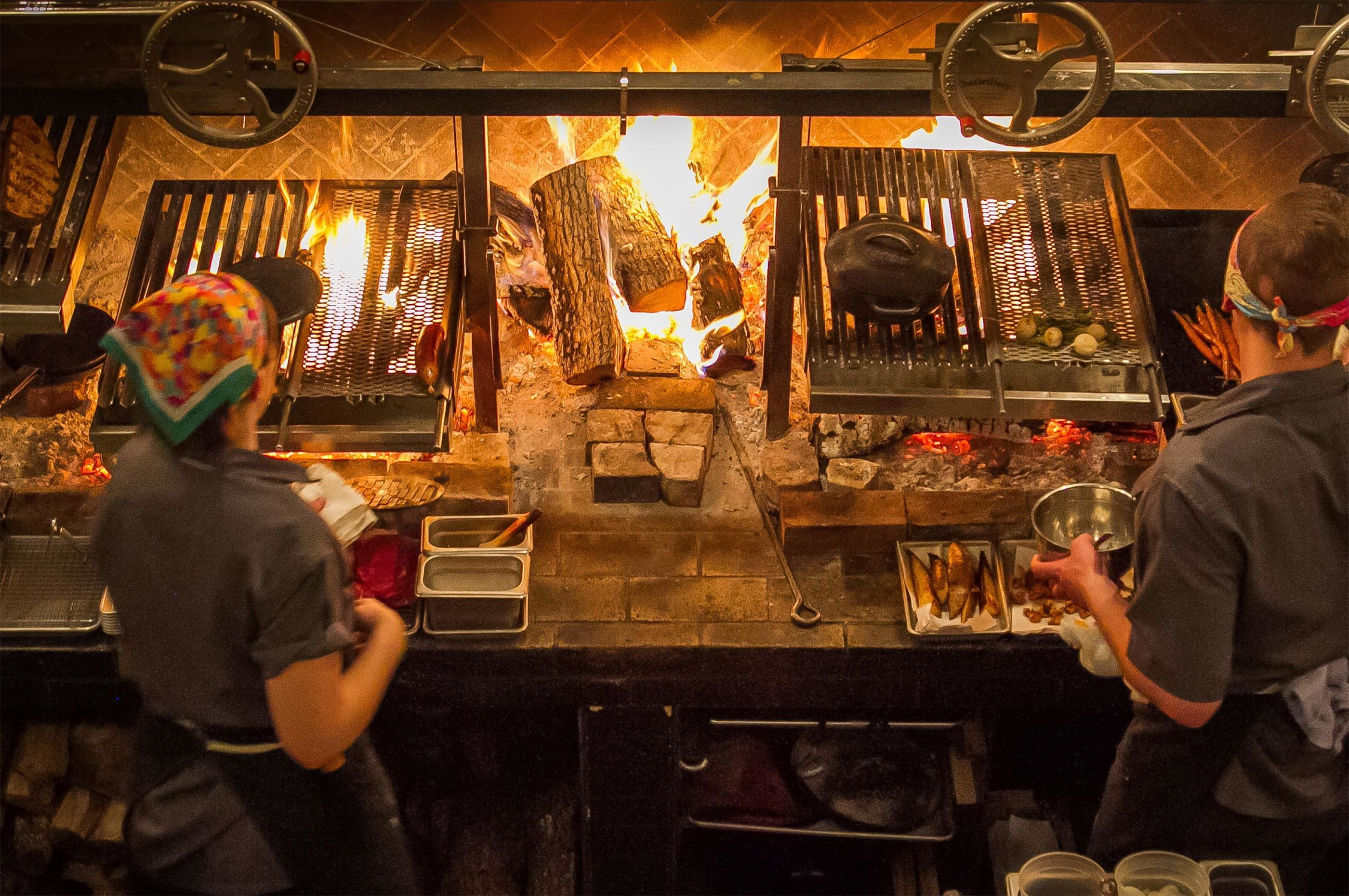 Restaurant Kitchen Work Stations the cult-favorite wood-fired grills taking the restaurant world