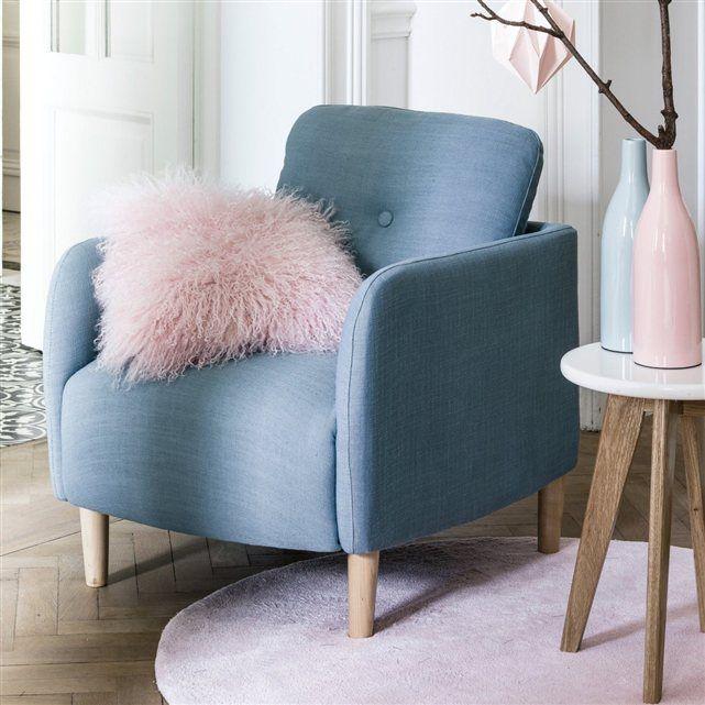 fauteuil scandinave jimi la redoute interieurs la redoute mobile home sweet home. Black Bedroom Furniture Sets. Home Design Ideas