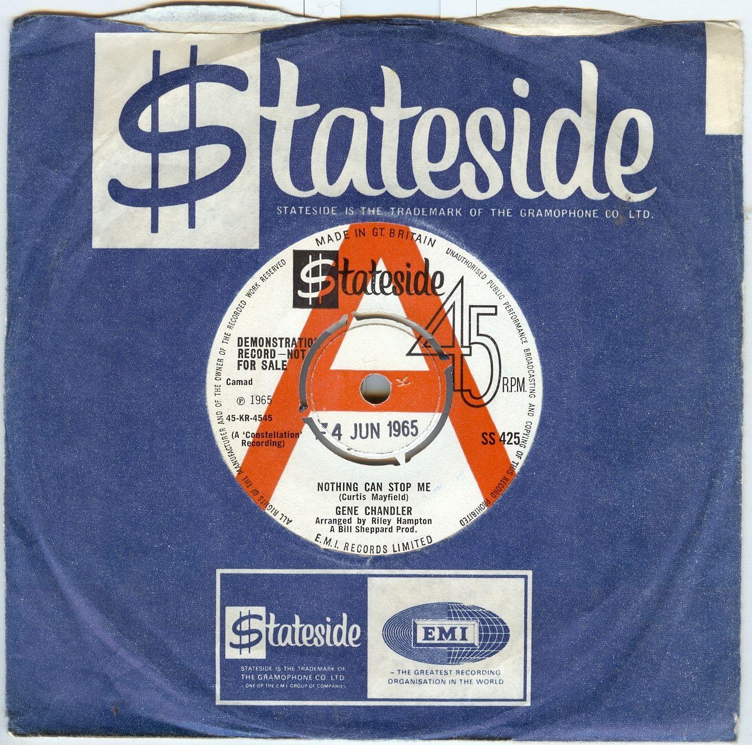 archived! GBP 259   Gene Chandlernothing Can Stop Medemosouldancerlisten To  #vinyl https://t.co/iJZkyKXtiH
