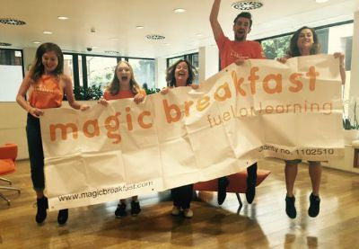 London Triathlon Magic Breakfast Team