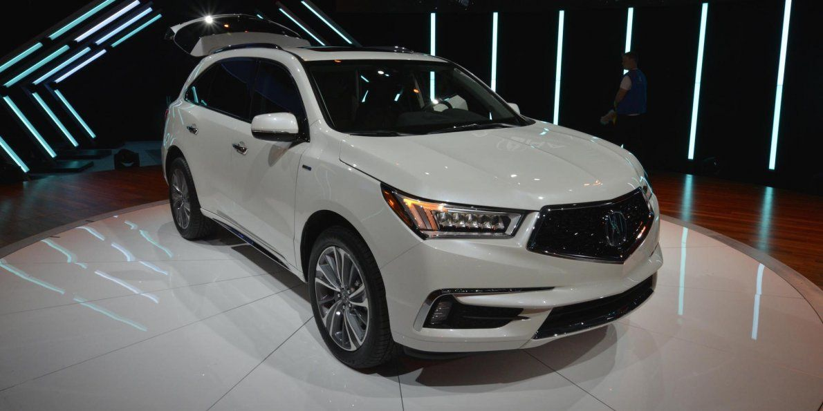 Acura Is Making One Big Change To Its Most Important Suv New Cars For Sale Acura Mdx Hybrid Car