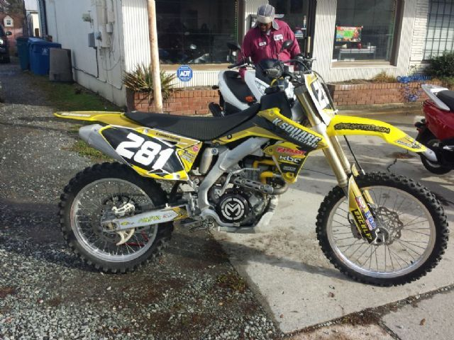 2009 Suzuki Rm Z450 Dirt Bike Yellow For Sale In Durham Nc