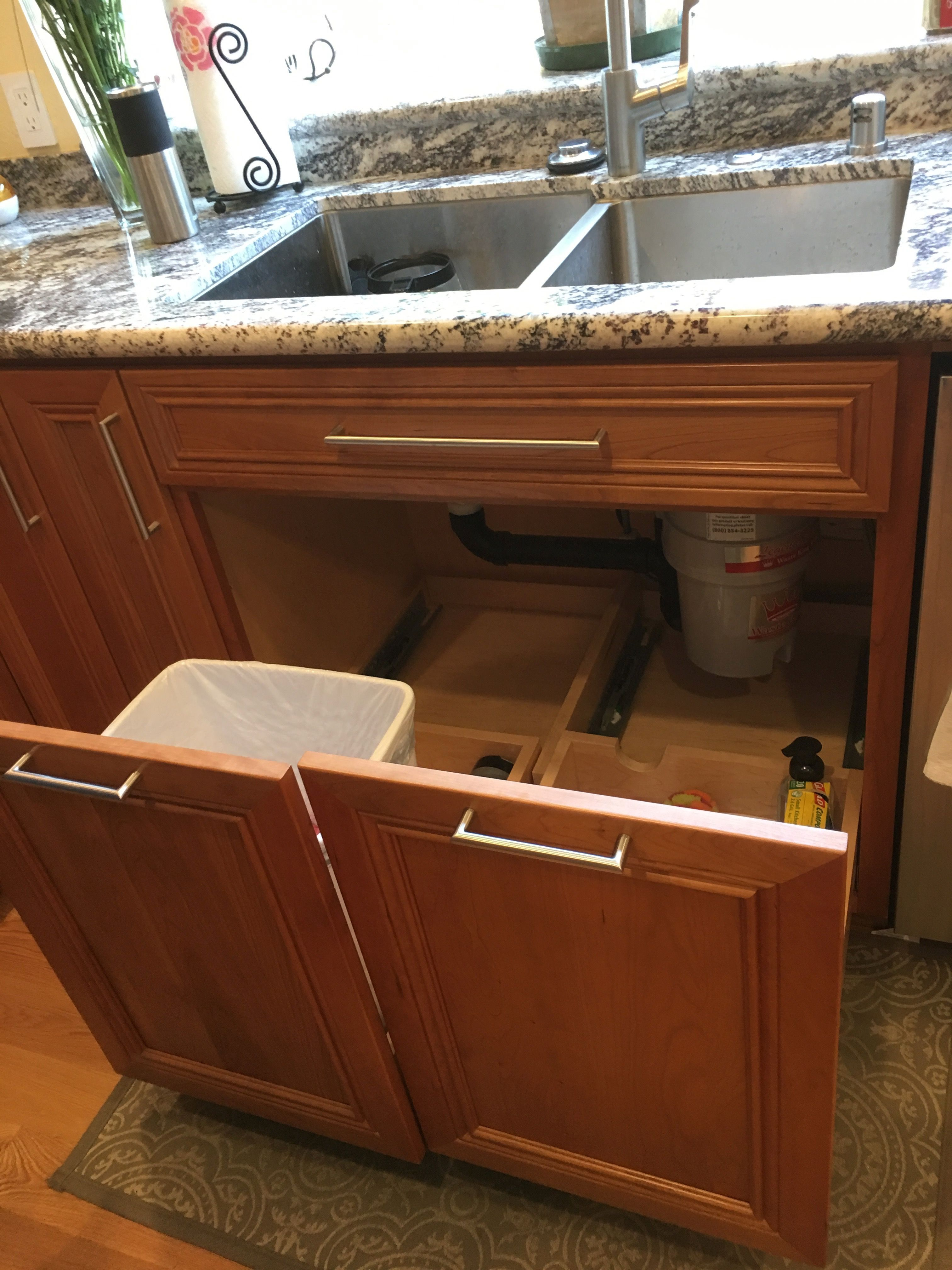 I Really Like The Idea Of Having Pull Out Drawers Under Sink