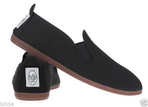 UK Mens Womens Flat Slip On Espadrilles Pumps Canvas Plimsolls Shoes Size 2-9