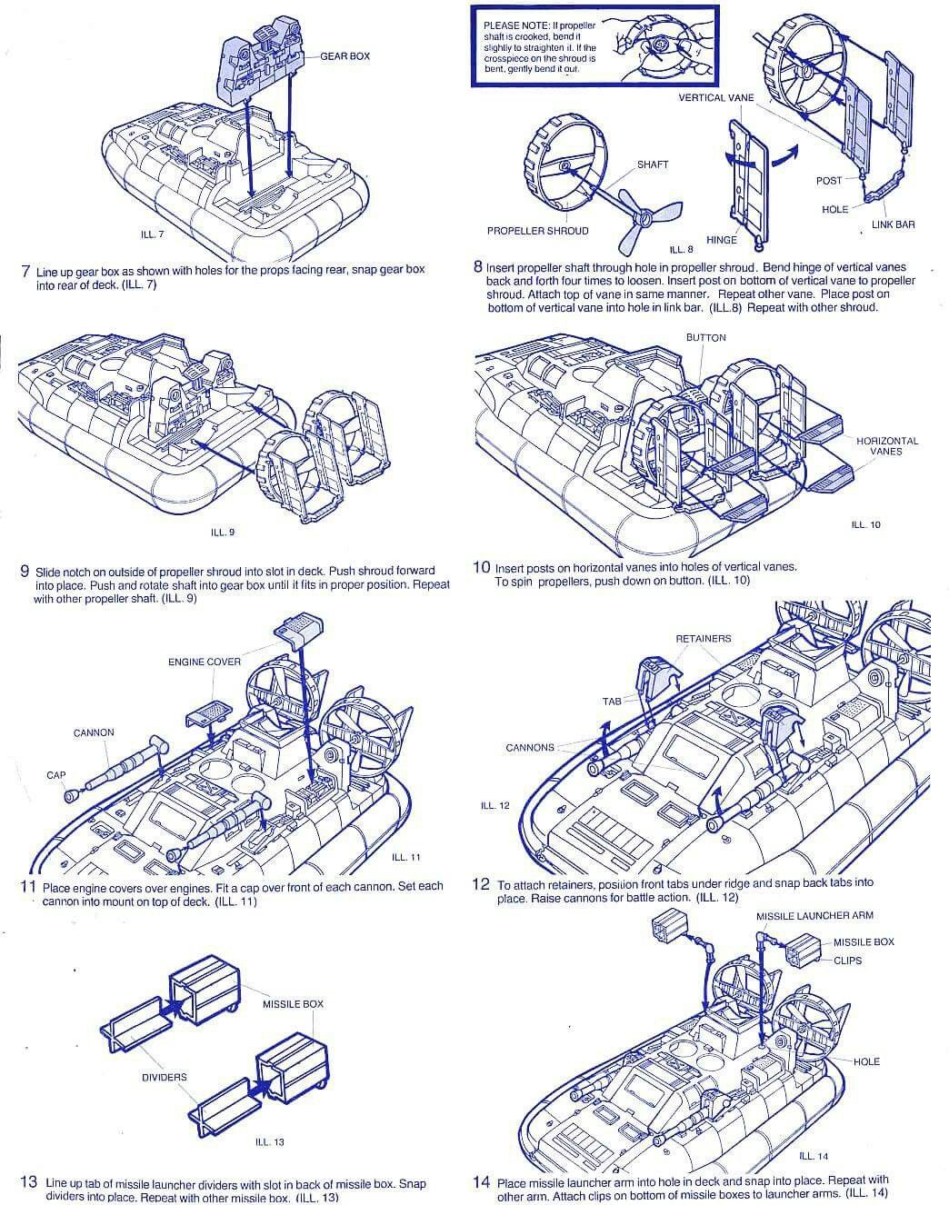 Pin by James Berry on gi joe blueprints | Gi joe, Big toy