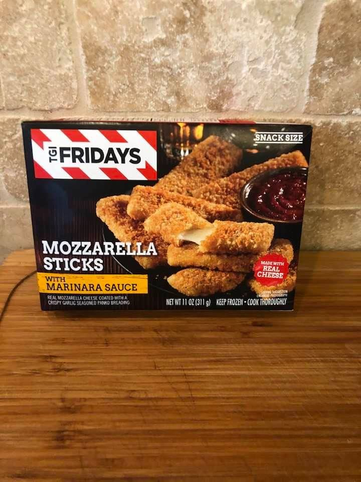 how long to cook tgi friday's mozzarella sticks in air fryer