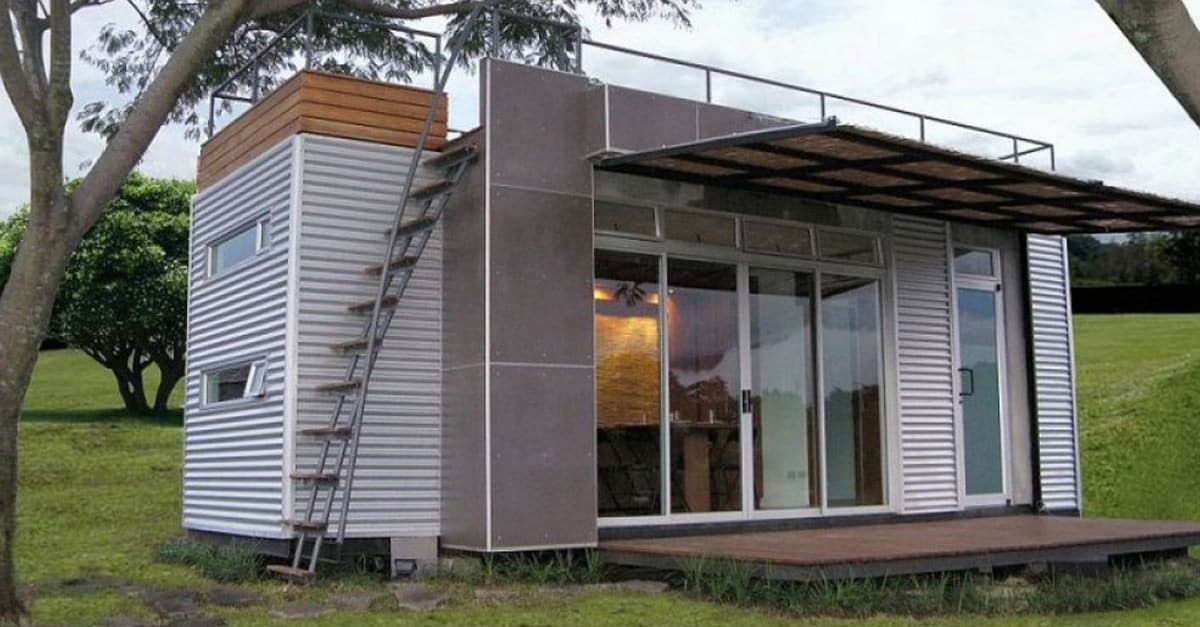 Cette demeure ne fait que 15 m², mais son intérieur est hallucinant ! - Tarif Gros Oeuvre Maison