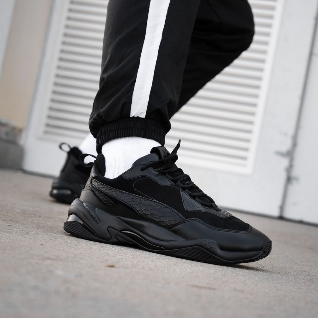 Puma Thunder Desert Black | shoes | Mode, Mode homme et