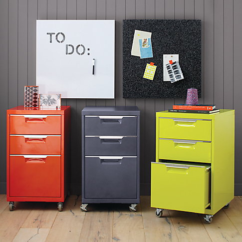 Tps Bright Orange File Cabinet In Office Furniture Cb2 159 Each Sku 630155 Dimensions