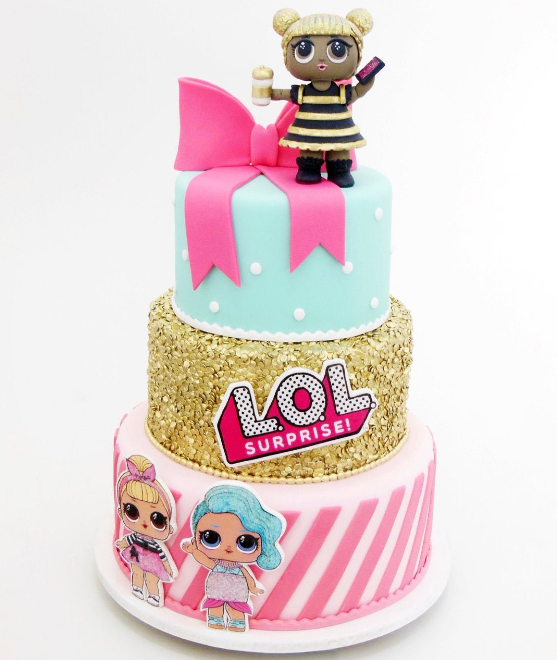 Lol Surprise Birthday Cake Lol Surprise Party Ideas In 2019 Doll