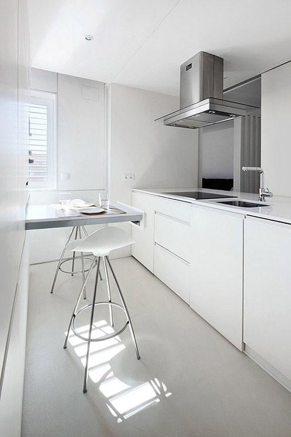 Diseños de barra para comer en la cocina