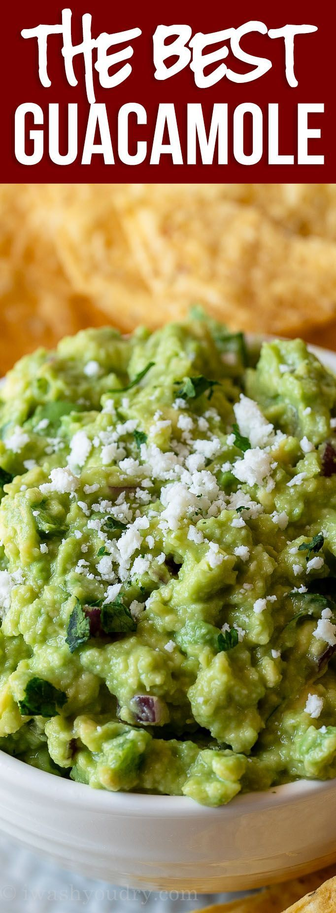 The BEST Classic Guacamole Recipe